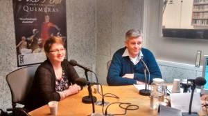 foto jan en koosje Radio apeldoorn interview